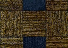 """Intervalo Negro"" Öl / Pigment / Marmormehl (160cm x 140cm)"