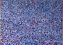 """""""Azulejos Azul"""" / Öl (130 x 140 cm )"""